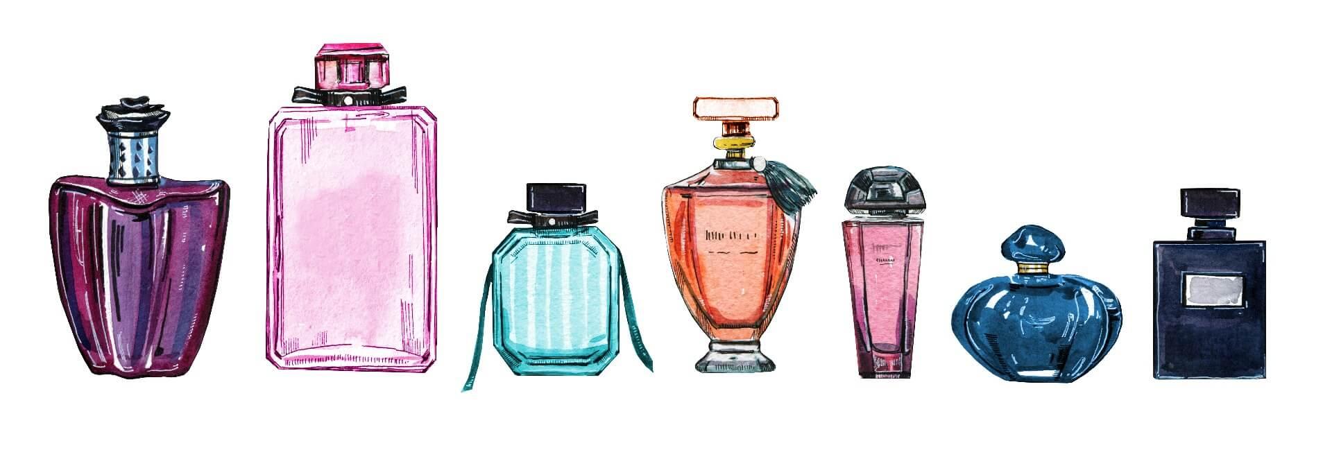 تشخیص رایحه عطر از رنگ ادکلن